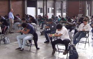 Estudiantes becados