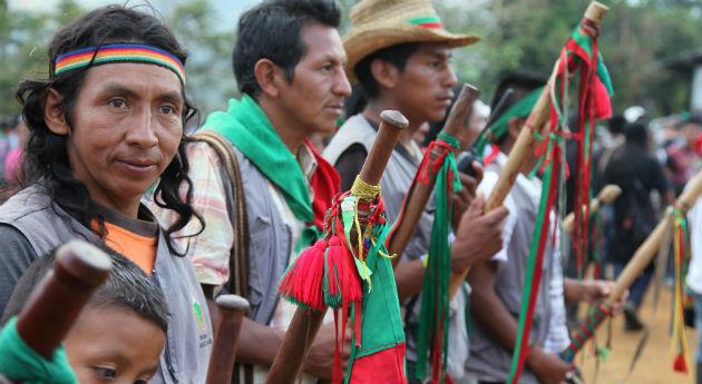 guardia indigena cauca