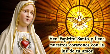 virgen santisima y espiritu santo neo
