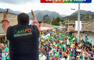 Campo en Popayan