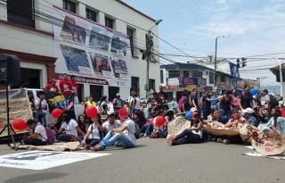 protestan estudiantes unicauca sede norte