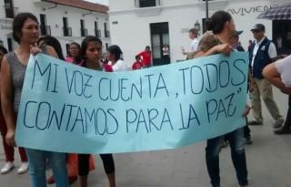 Las víctimas son población clave en el desarrollo de un Cauca, Territorio de Paz