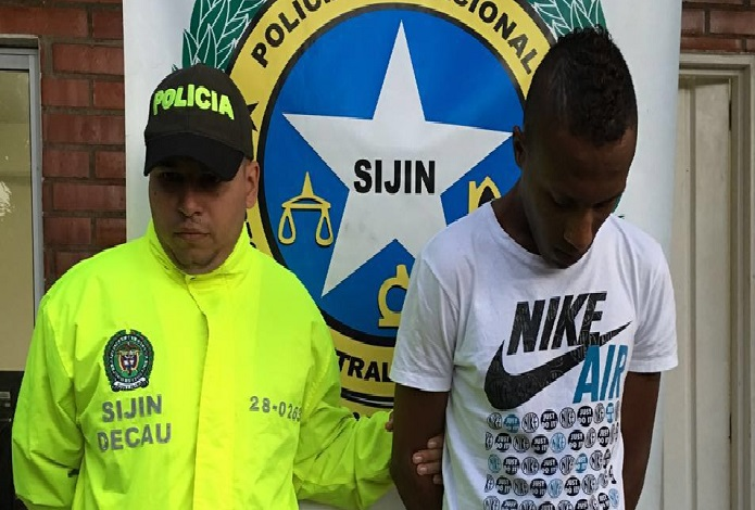 Policía Nacional capturó a presunto 'sicario' en Santander de Quilichao.