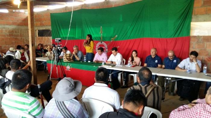 Gobierno Nacional y Comunidades indígenas  trabajan en la construcción de instrumento para el cumplimiento de los acuerdos