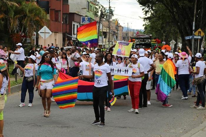 Por primera vez en el departamento del Cauca se llevó a cabo la Marcha por la Dignidad y Diversidad Sexual