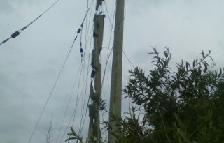 Atentado a infraestructura eléctrica, afecta servicio de energía en Toribío.