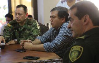 Gobernador del Cauca articula acciones de Seguridad y Convivencia.