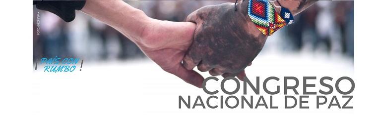RECTA FINAL AL PACTO NACIONAL POR LA VIDA Y LA PAZ EN COLOMBIA