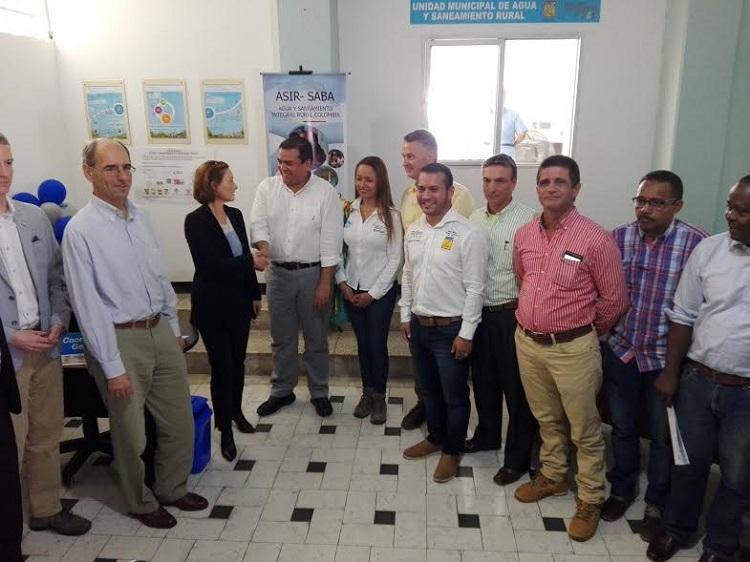 Gobernador inaugura en Santander de Quilichao la Unidad Municipal de Agua y Saneamiento Rural2