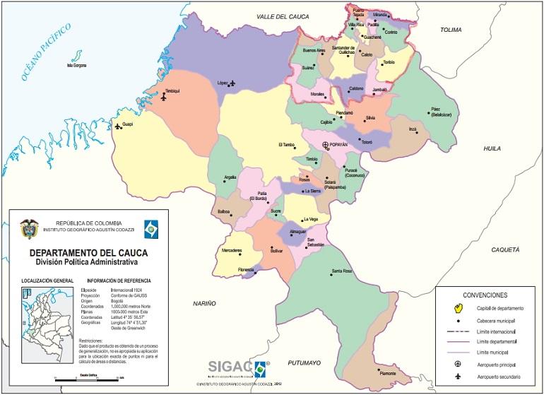 ¿Es viable el nuevo departamento del norte del Cauca?