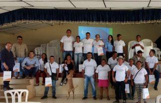 Socializado cierre de proyecto de electrificación rural en Sucre.