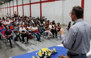 Unicauca realizó jornada de bienvenida a primíparos en Santander de Quilichao.