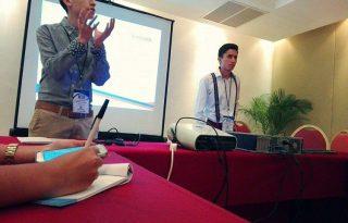 Dos Estudiantes Caucanos participaron en congreso de ciencia política realizado en Cancún México.