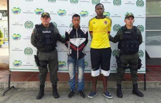 Dos capturados por extorsión en Santander de Quilichao.