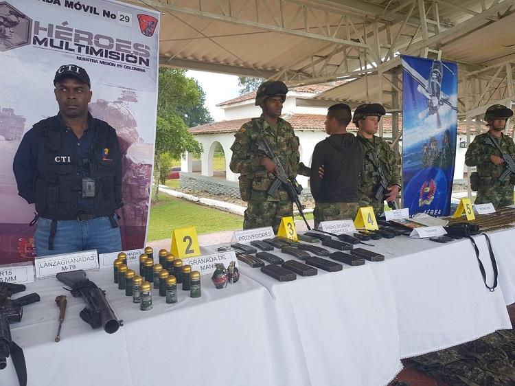 Neutralizados en combate guerrilleros del Eln, responsables de acciones terroristas en el norte del Cauca1