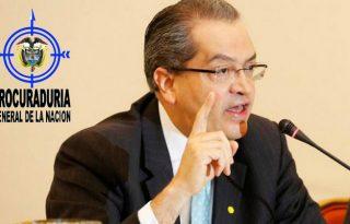 procurador Prohíben que contratistas del estado participen en política