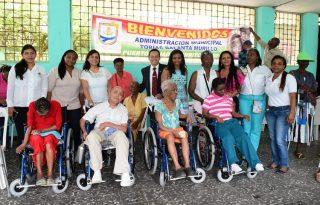 Población con discapacidad recibe de la Gobernación del Cauca dotación de ayudas técnicas para su movilidad.
