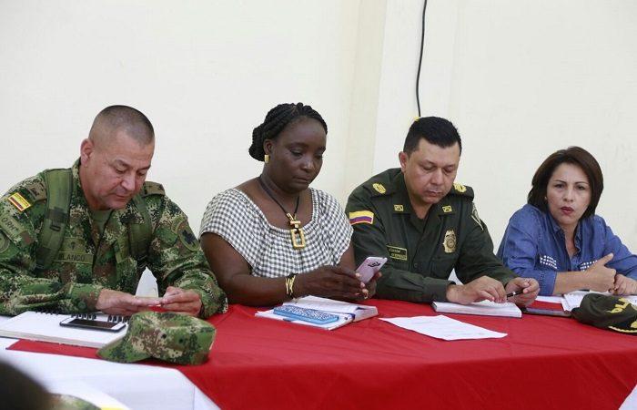 La seguridad en el departamento del Cauca: un reto intersectorial- Consejo de Seguridad en Villa Rica.
