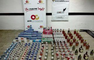 En Guachené y Timbío: Importante incautacion de licor y cigarrillos adulterados y de contrabando en el Cauca.