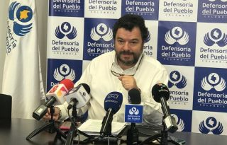 Defensor Negret Rueda de prensa