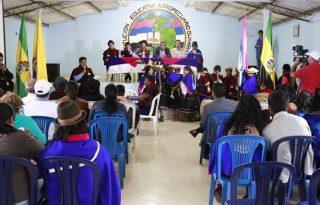 Gobernador reafirma compromisos en agroindustria piscícola y pavimentación en el municipio de Silvia