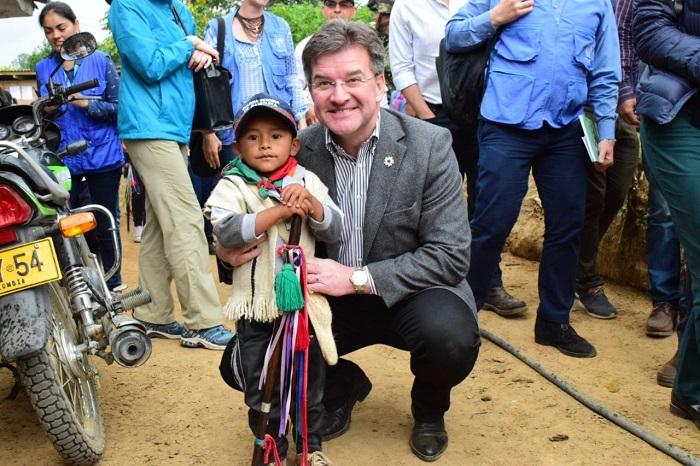 Histórica visita del presidente de la asamblea de la ONU al Cauca 3