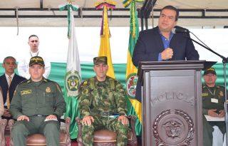 Gobernación aporta en la modernización de la fuerza pública para la lucha contra la criminalidad