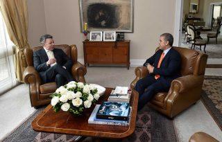Visita Presidente Electo Ivan Duque