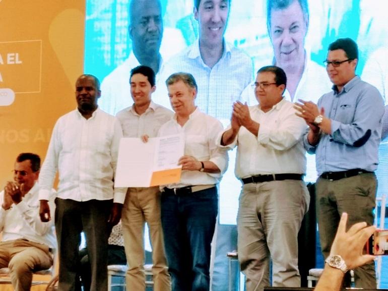 Se firmo en Santander de Quilichao,  la ampliación del Contrato Plan para los 42 municipios del  Cauca 1