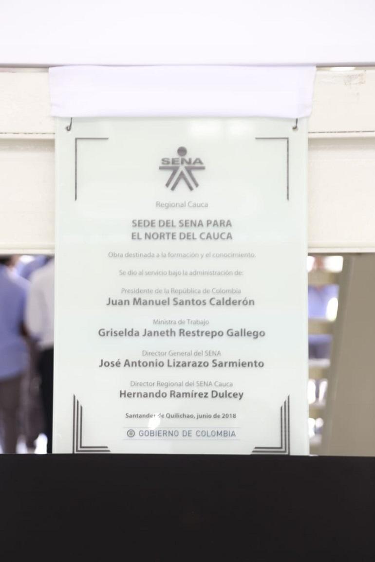 Inauguración sede sena 3