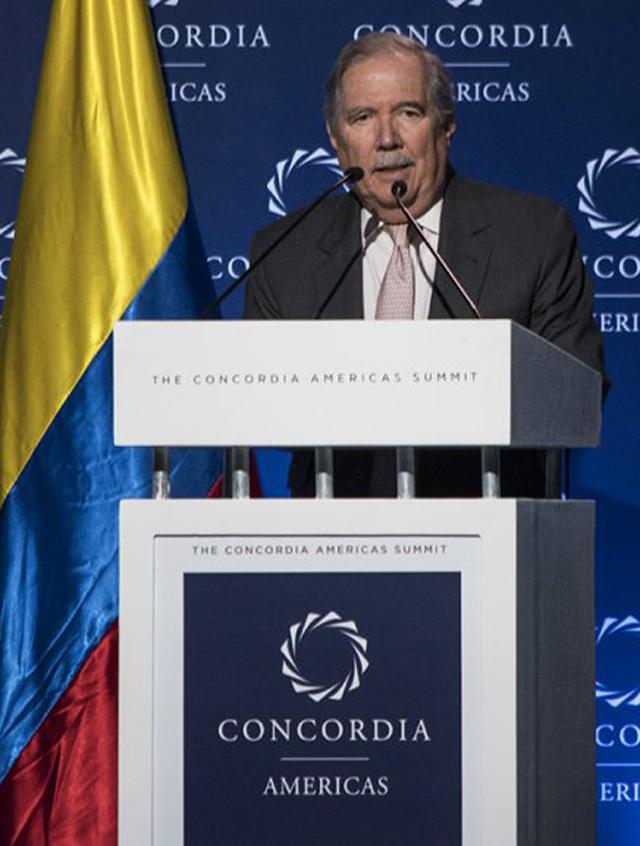 Guillermo Botero Nieto, ministro de Defensa.