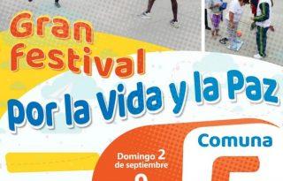 Festivales por la Vida y la Paz en las Comunas de Popayán