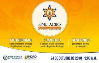 El Cauca se prepara para el VII simulacro Nacional de Respuesta a Emergencias