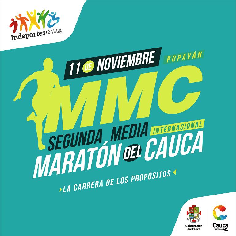 Segunda Media Maratón del Cauca, la Carrera de los propósitos