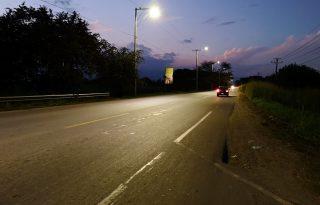 Vía iluminada, Puerto Tejada-Puente Hormiguero