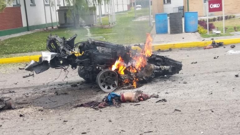 Cinco muertos y diez heridos dejan atentando con carrobomba en la Escuela de Cadetes General Santander de Bogotá
