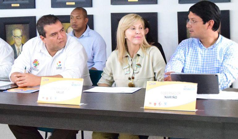 Gobernadores Cauca, Valle y Nariño