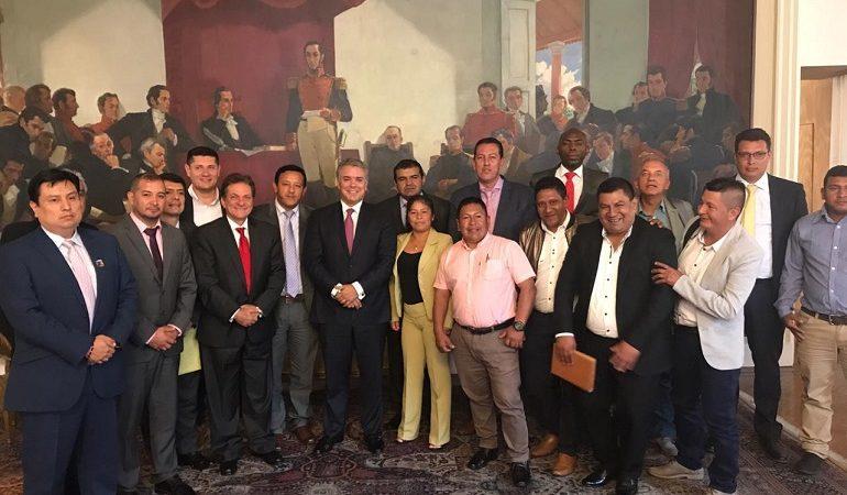 presidente y alcaldes